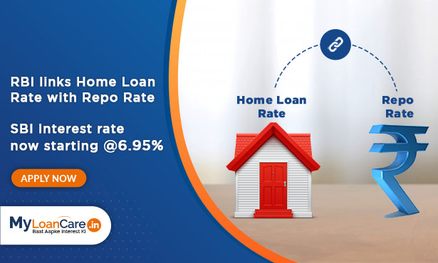 SBI Repo Rate Linked Home Loan