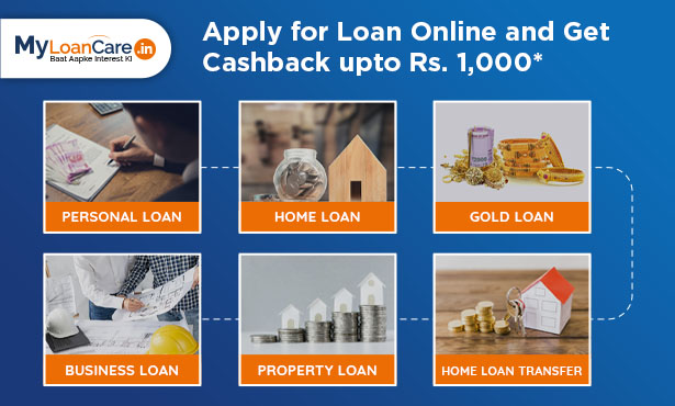 Apply for loan online and get cashback upto Rs 1,000