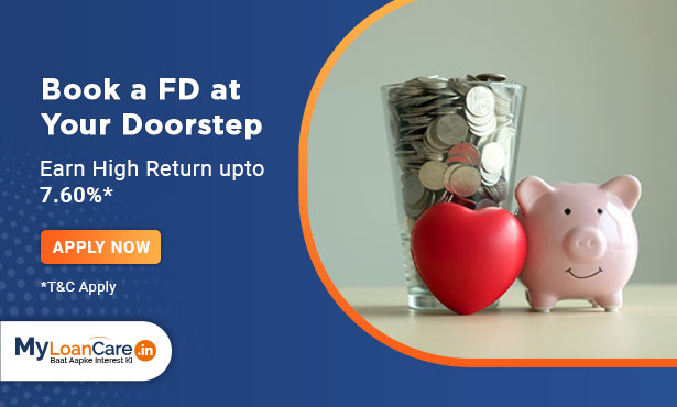 Book a FD at Your Doorstep