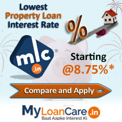 Lowest  Loan Against Property EMI Calculator