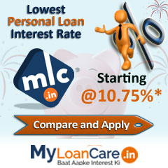Lowest Bhilai  Personal Loan Interest Rates
