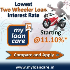 Lowest  Two wheeler Loan